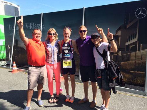 European AG Triathlon Champion 2014, Kitzbühel by Kimberley Morrison   Jun 20, 2014