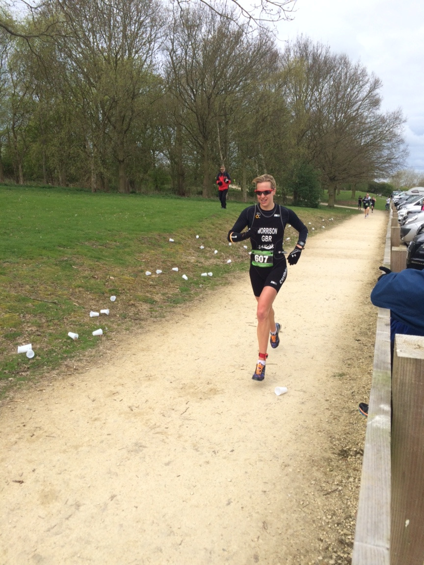 Win at the Anglian Water Duathlon | Mar 29, 2015